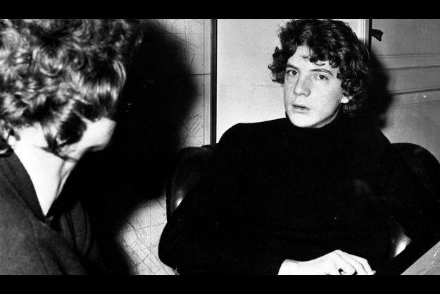 John Paul Getty III en décembre 1973. Il venait tout juste d'être libéré.