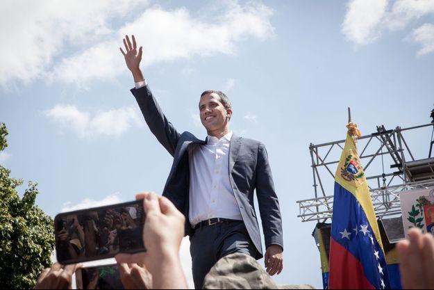 Juan Guaido, le 2 février 2019 à Caracas.
