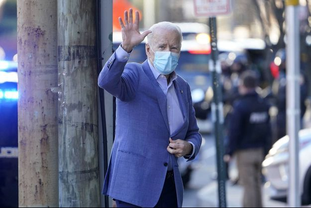 Joe Biden à Wilmington dimanche.