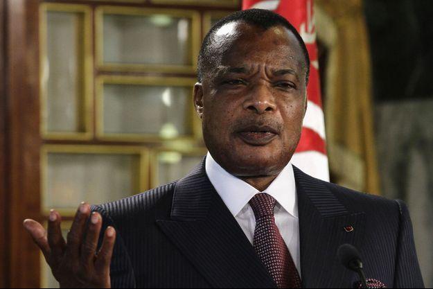 Denis Sassou Nguesso.
