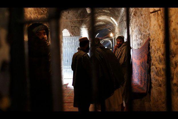 """Le quartier des """"politiques"""" de la prison de Kandahar"""
