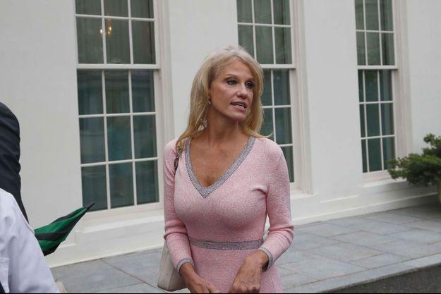 Kellyanne Conway à la Maison-Blanche, jeudi.