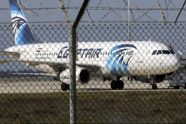 Un avion A320 d'EgyptAir