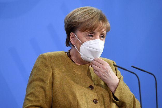 Angela Merkel, le 19 février 2021 à Berlin.
