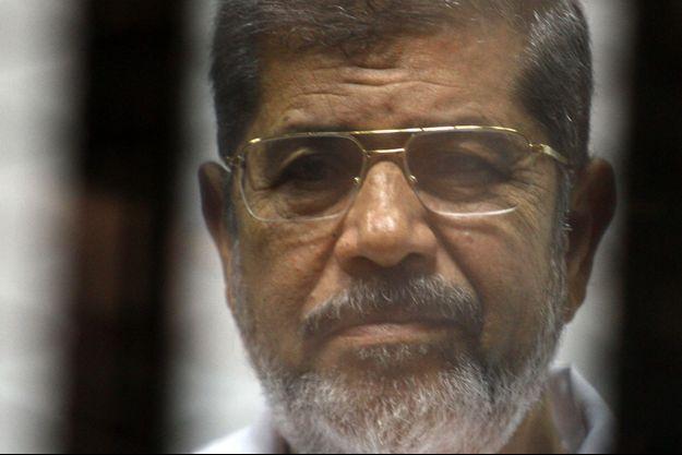 L'ancien président égyptien issu des Frères musulmans Mohamed Morsi, ici en mai 2014.