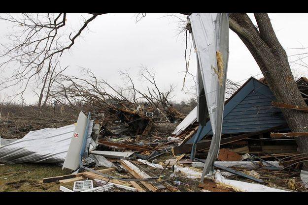 L'Indiana a été particulièrement touché par de nombreuses tornades la semaine dernière.