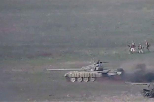 Des tanks azéris ont été déployés selon l'Arménie.