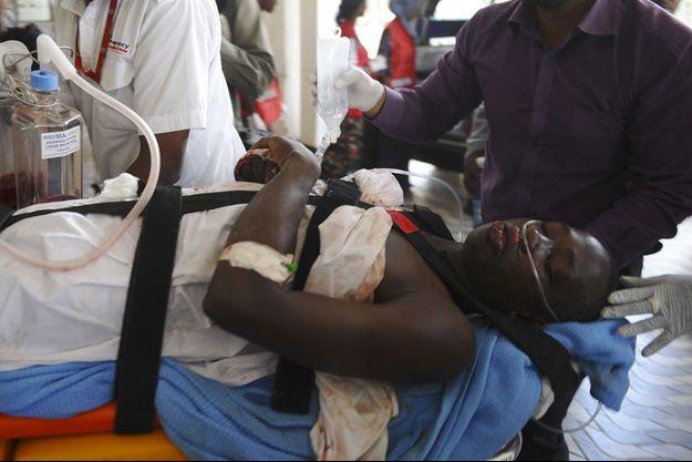 Les blessés sont envoyés en urgence à l'hôpital de Nairobi.