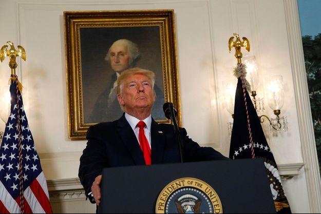Donald Trump le 14 août à Washington.