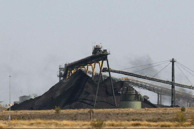 Une mine de charbon de près de Narrabri, en Australie.