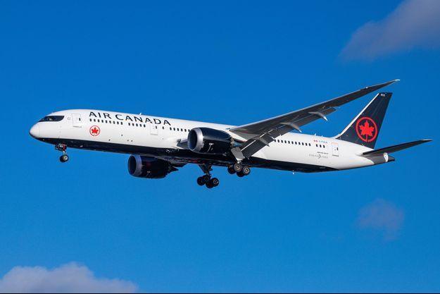 Avion de Justin Trudeau.