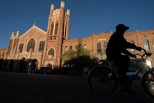 L'église d'El Paso, au Texas.