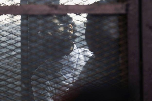 Alaa Abdel Fattah ce lundi au Caire.