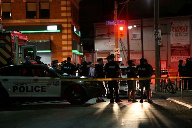 L'attaque a fait deux morts, dimanche à Toronto.