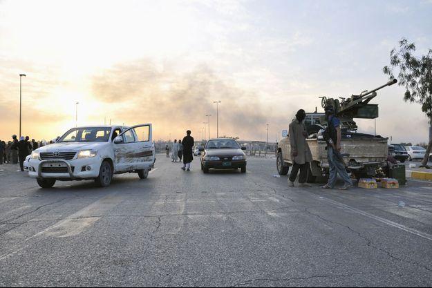 Les combattants de l'Etat islamique en Irak et au Levant gagnent du terrain.