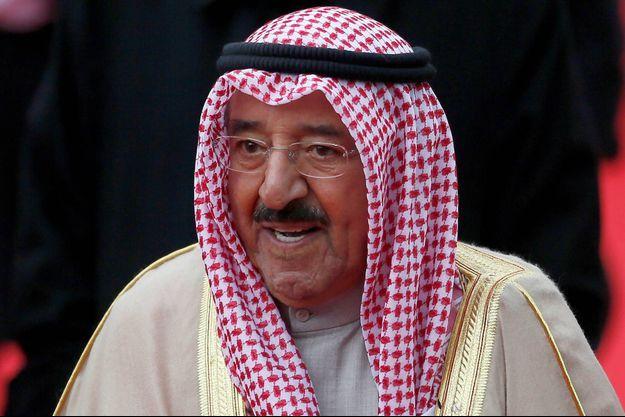 L'émir du Koweït, cheikh Sabah al-Ahmad al-Sabah, en novembre 2012.