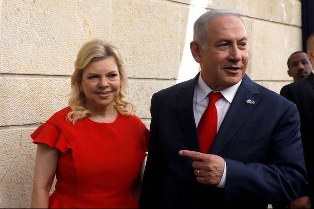 Sara et Benjamin Netanyahu.