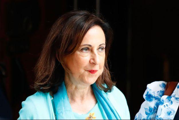 La ministre espagnole de la Défense, Margarita Robles, à Madrid le 23 juillet.