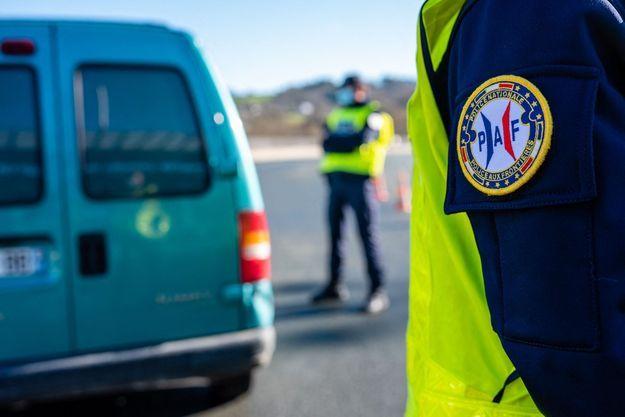 Police nationale des frontières à Hendaye, en France (image d'illustration).