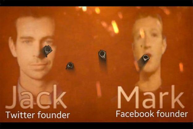 Zuckerberg et Dorsey Etat islamique