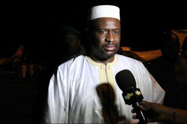 """Moussa Mara, ici le 18 mai 2014, chef du parti Yelema, le """"Changement"""" en Bambara est candidat pour la présidence du district de Bamako lors des élections régionales de juillet 2017 au Mali"""