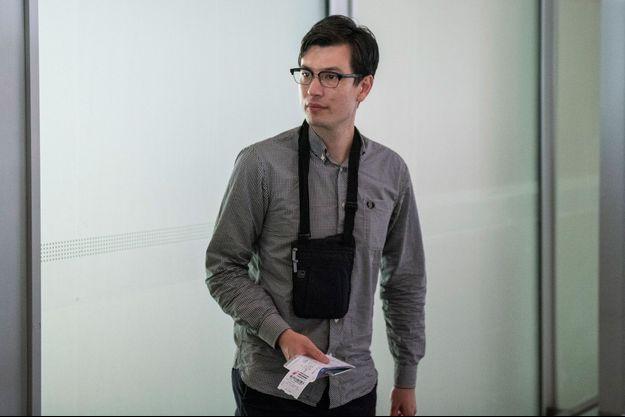 Alek Sigley à Pékin le 4 juillet 2019.