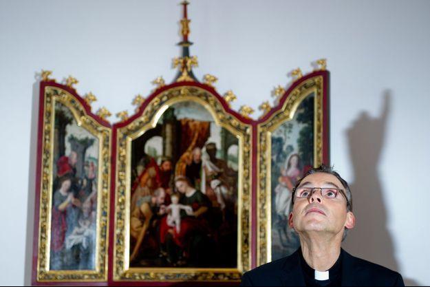 Franz-Peter Tebartz-van Elst sur une photo prise en décembre 2012.
