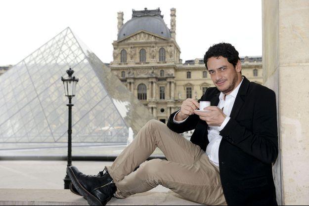 """""""Je ne garderai pas le silence"""", lance l'acteur de passage à Paris, le 23 avril."""