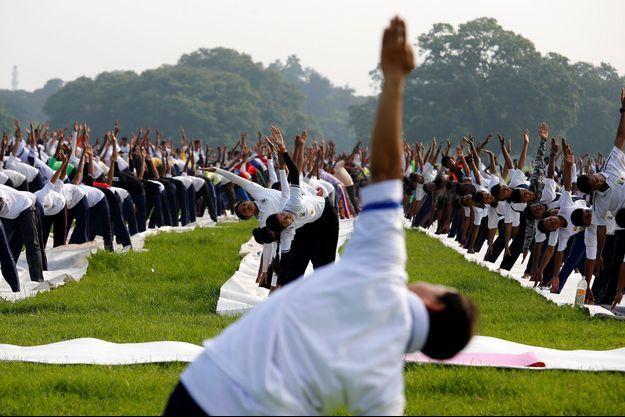 La quatrième Journée internationale du yoga a lieu ce jeudi.