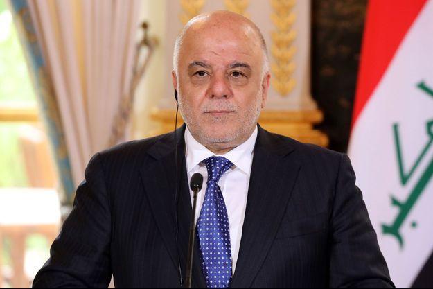 Haider al-Abadi, le 5 octobre 2017 à Paris