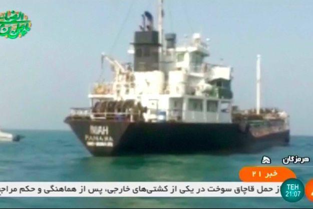 Riah, le pétrolier détenu par les autorités iraniennes.