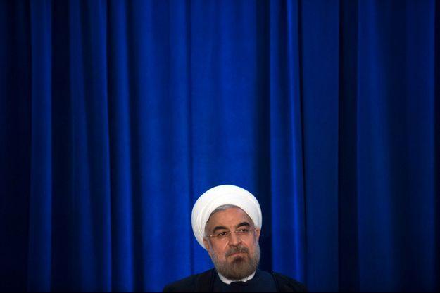 Le président iranien Hassan Rohani à New York, fin septembre.