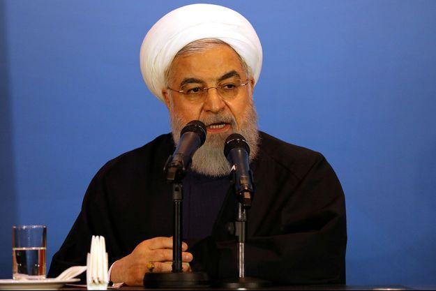 Hassan Rohani, le président de la République islamique d'Iran.
