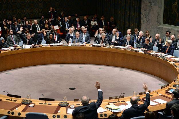 Les grandes puissances de l'ONU ont voté pour la résolution entérinant la paix en Syrie, le 18 décembre 2015.