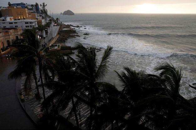 L'ouragan Willa s'approchait des côtes du Mexique mardi.