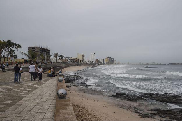 L'ouragan Willa s'approche du Mexique.