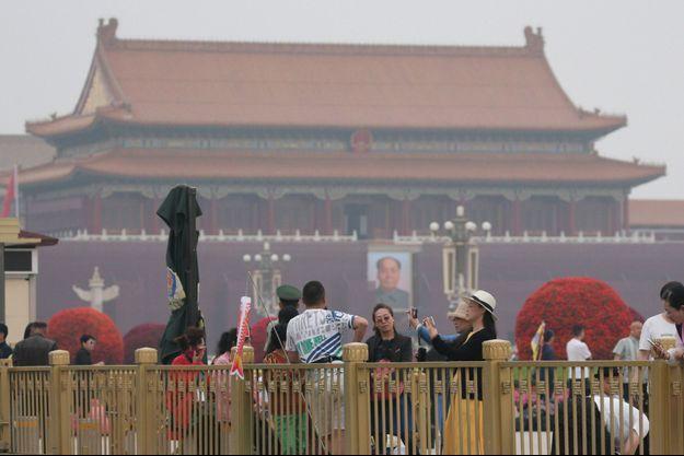 Place Tiananmen, trente ans après le massacre, le 4 juin 2019.