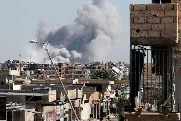 Des combats intenses se déroulent toujours à Raqa (photo d'illustration)