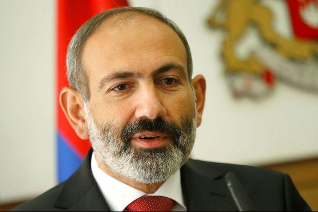 Le Premier ministre arménien Nikol Pashinyan.