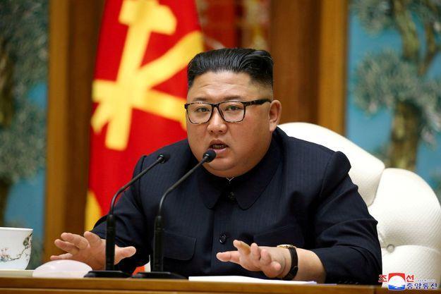 Kim Jong-un à la fin du mois de décembre 2019.