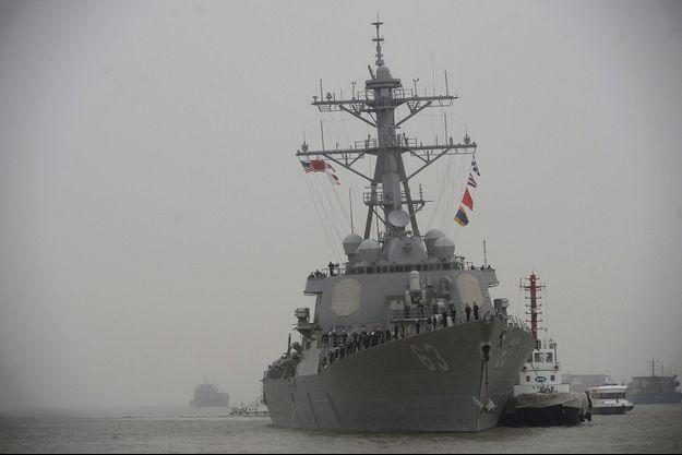 Un navire américain en Chine (image d'illustration).