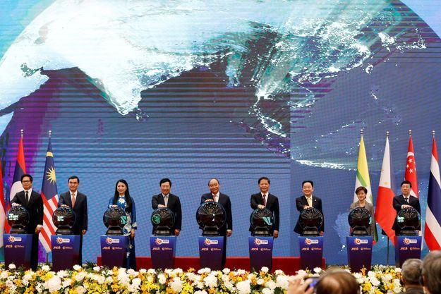 Sommet virtuel de l'ASEAN à Hanoi.