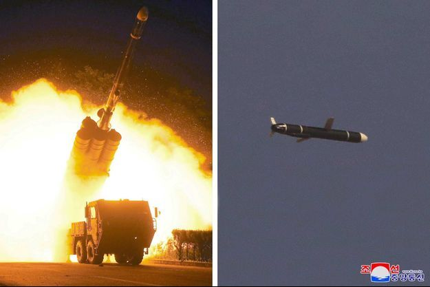 Les images publiées par l'agence de presse officielle KCNA.