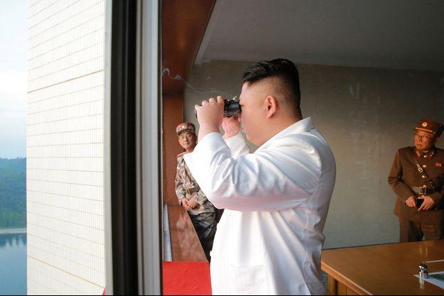 Le dictateur nord coréen Kim Jong-un.