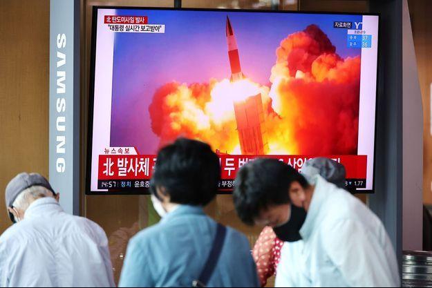 Les tirs de missile se sont succédés.