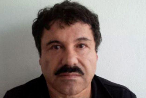 """Le mugshot Joaquin Guzman alias """"El Chapo""""."""