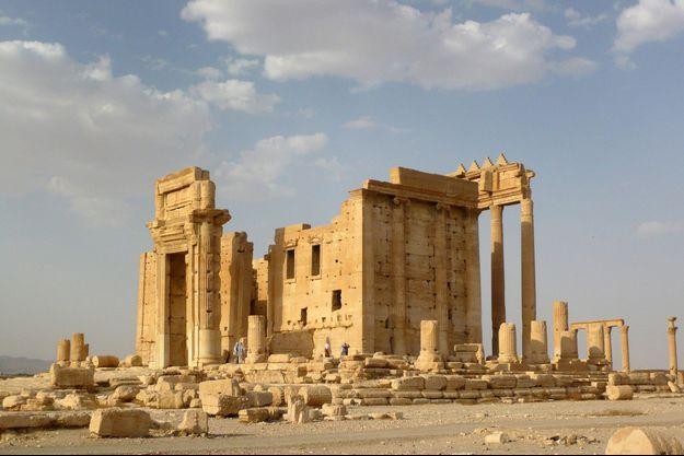 Le temple de Bal, à Palmyre