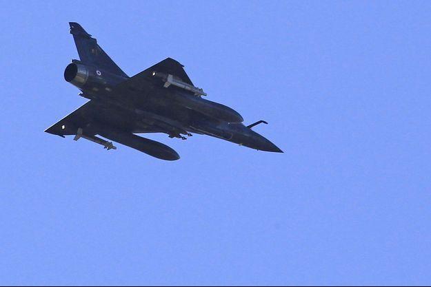 Un Mirage 2000 photographié en 2011