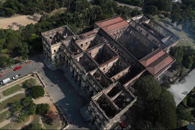 Le Musée national de Rio de Janeiro a été ravagé par un incendie.
