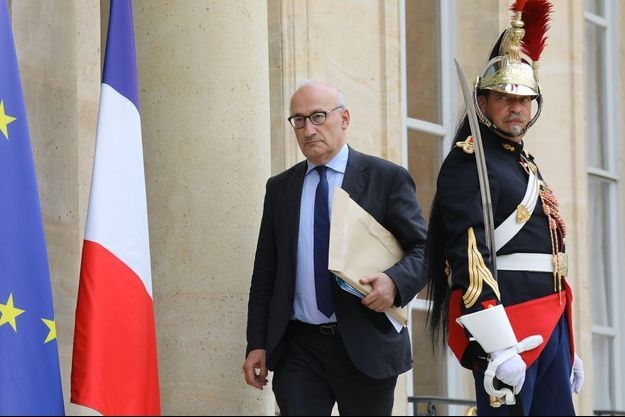 Philippe Etienne, ambassadeur de France à Washington, ici à l'Elysée en 2018. Il était à l'époque conseiller diplomatique d'Emmanuel Macron.